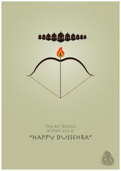 Wisdom Heights School wishes you a Family Wishes, Diwali Wishes, Hindu Festivals, Indian Festivals, Rangoli Ideas, Rangoli Designs, Happy Dussehra Wishes, Dussehra Greetings, Tatoo