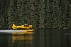 Float plane ~ living on a lake