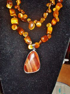 TIGER EYE Natural Stones  from Arizona Statement  by redbudcrafts, $200.00