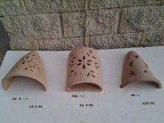 TERRACOTA OLLERIA: apliques de terracota,lamparas rusticas para jardin,faroles de barro