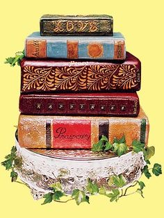Book Cake -- Very Cool!