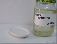 Como hacer azúcar invertido en casa.