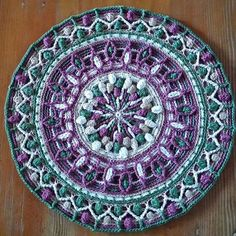 buttermilkcandy crochet mandala