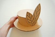 Cardboard hat_001 by playandgrow, Via Flickr