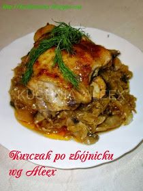 W mojej kuchni: Kurczak po zbójnicku wg Aleex Ale, Chicken Wing Recipes, Polish Recipes, Tortellini, Chicken Wings, Pork, Food And Drink, Turkey, Menu