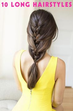 long hairstyles with braids. This one looks amazing