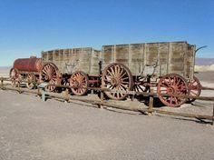 Death Valley National Park, Borax Wagons