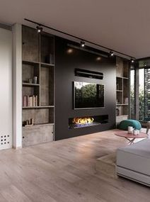 Family Room Ideas With Fireplace 3 Paijo Network Living Room Design Modern Living Room With Fireplace House Interior