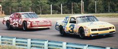 Dale loved racing his friend and rival, Tim Richmond.