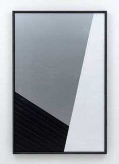 CHRIS SUCCO  SILVER WHITE GRID (FP #10), 2012 b/w photograph, lacquer, aluminum in artists frame, 687⁄8x 451⁄4 inches