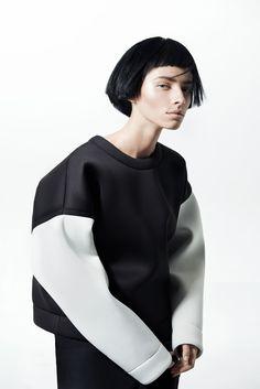 White Sleeve Urban Sweatshirt   Omelya   Shop   NOT JUST A LABEL