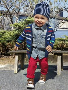 Clothes for Stylish Toddler: Full Color Baby ~ hipsterwall.com Hipster Baby Inspiration