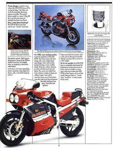 1986 Suzuki GSX-R 750 #Motorcycle #Sportsbike #Suzuki