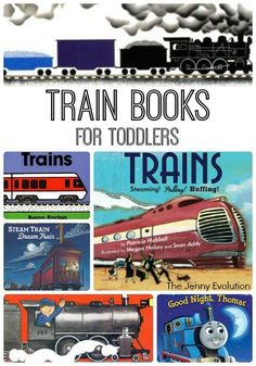 Mom of boys shares our favorite train books that your boys are sure to love! These train books have easily stood the test of time with my kiddos :) Toddler Books, Toddler Fun, Toddler Preschool, Childrens Books, Kid Books, Library Books, Train Activities, Learning Activities, Preschool Activities