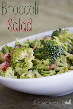 easy homemade broccoli salad