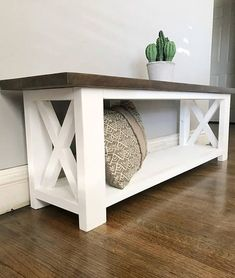 Straightforward DIY Wood Furniture Projects Tips - Painless DIY Woodworking Systems - The Options - Constant Improve Diy Furniture Projects, Home Projects, Diy Wood Projects, Diy Bank, Diy Home Decor, Room Decor, Foyer Decorating, Decorating Ideas, Rustic Furniture