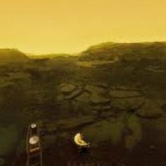 Actual Surface Photo of the planet VENUS taken by a Russian Space probe ..... space NASA planet planets solar system cool decor home