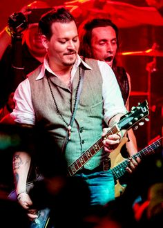 Johnny Depp - Music on a Mission, August 16th, 2015