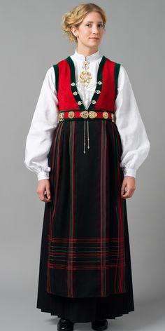 Norwegian Bunad from Laksevåg