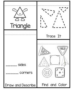 shape flip books for 2-d shapes and 3 d shapes. Shapes included are circle, square, rectangle, triangle, hexagon, cone, cube, sphere and cylinder.  Great for interactive notebooks!