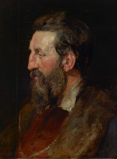 Artwork by Peter Paul Rubens - Portrait of a Man, c. 1615, | Painting | Artstack - art online