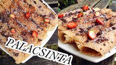 PALACSINTA RECEPT  tej tojás glutén mentes - VEGÁN - YouTube Banana Bread, Cereal, French Toast, Gluten Free, Vegan, Recipes, Breakfast Ideas, Food, Youtube