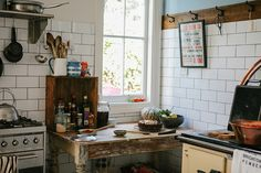 Michelle Crawford's kitchen — photo by Luisa Brimble.