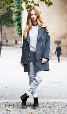 Scandinavian effortlessness #womenswear #streetstyle #ootd #outfitoftheday