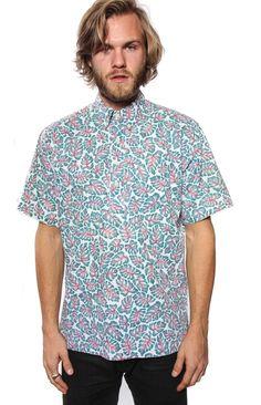 Vintage Reyn Spooner Leaf Print Shirt MED-LARGE $45