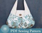 BRIOLETTE Handbag Purse PDF Sewing Pattern por hyperart en Etsy