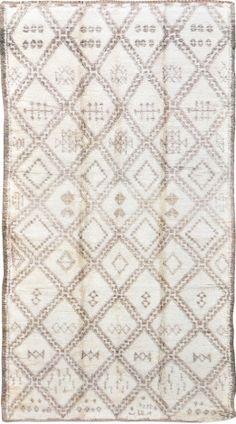 Mehraban Antique Moroccan Rug 3