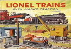 lionel model trains   Cover of 1956 Lionel catalog.   Model Railroad and Model Railroading ...