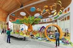 """Determine additional info on """"playground indoor playrooms"""". Take a look at our website. Kids Play Area Indoor, Indoor Playroom, Kids Indoor Playground, Playground Design, Playground Ideas, Daycare Design, Playroom Design, School Office Design, Kindergarten Design"""