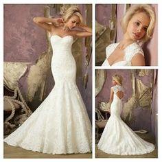 Online Shop Ivory Lace Mermaid Style Backless Sweetheart Wedding Dresses With Sleeves 2013 Aliexpress Mobile