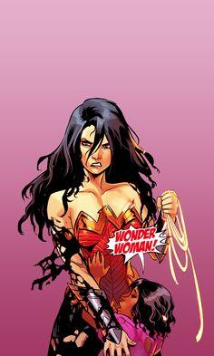 Pin By Sup On Dc Stuff Adam Hughes Wonder Woman Comic Art