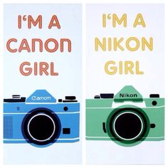 Which side are you!? #cheekylime #nikon #canon #camera