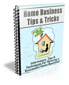 Running A Home Business Doesn't Have To Be Hard, Especially When You Have The Right Information!   The Home Business Tips & Tricks Newslette...