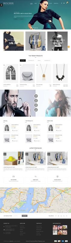 Bencher is a Responsive WooCommerce WordPress #Theme for Multipurpose #eCommerce #website. Download Now!