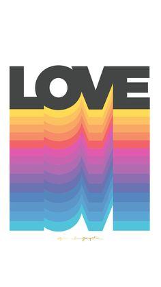 Phone background by Spiritual Gangster Web Design, Retro Design, Logo Design, Vintage Designs, Graphic Design Posters, Graphic Design Inspiration, Lettering, Typography Design, Typography Poster