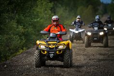 The Best Guided ATV Tours In Ontario. Look Lake Herridge Lodge & Resort is top of the list of places to stay! Now we offer guided tours for ATVing as well. Team Building Exercises, Atv Riding, Atv Accessories, Forest Service, In Case Of Emergency, Fun Challenges, Tour Guide, Outdoor Camping, Hand Warmers