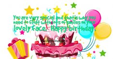 You are very special and that's why you need to float with lots of smiles on your lovely face. Happy Birthday Wishes, Birthday Quotes, Birthday Cake, Happy Bday Wishes, Anniversary Quotes, Birthday Cakes, Happy Birthday Greetings, Birthday Wishes Greetings, Birthday Wishes