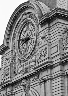 Musee D'orsay Clock ancienne gare d'Orsay transformée en musée.ormer Orsay railway station into a museum