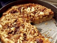 Osztrák almatorta | NOSALTY Risotto, Oatmeal, Grains, Rice, Breakfast, Ethnic Recipes, Sweet, Food, The Oatmeal