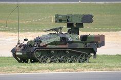 Wiesel 2 LeFlaSys (ASRAD) Short-Range Air Defense System (Germany)