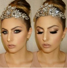 Dramatic bridal makeup vanitymakeup