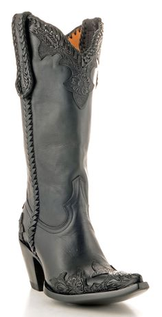 The perfect black cowboy boots! Julian by Old Gringo