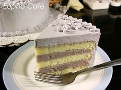 Taro Sponge Cake from Eupho Café - Recipes