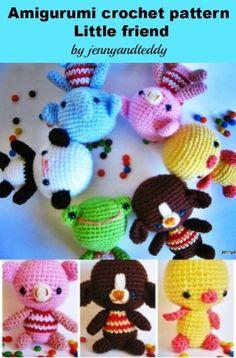 pdf little friends amigurumi crochet pattern-luulla by ana9112