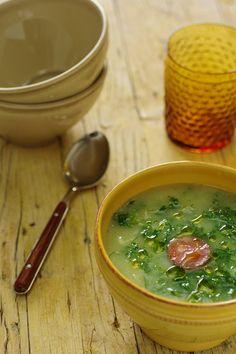 Cinco Quartos de Laranja: Caldo-verde de couve-flor para comer e emagrecer