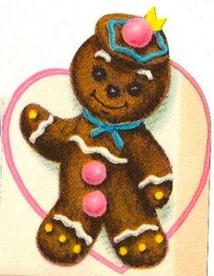 Vintage Gingerbread costume details.